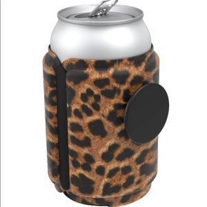Leopard Prowl pop socket can coozie